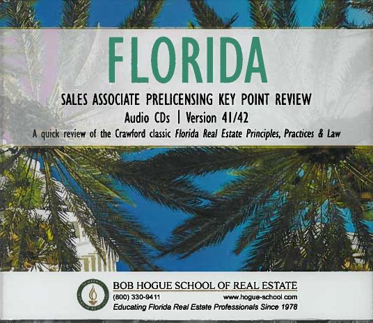 Bob Hogue Florida Real Estate Sales Associate Licensing Course